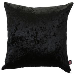 Geneva Scatter Cushion, Black, 45x45 cm