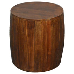 Rustic Accent And Garden Stools by Favors Handicraft
