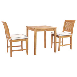 Transitional Outdoor Dining Sets by Chic Teak