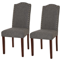 Transitional Dining Chairs by Glitzhome