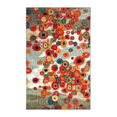 """Mohawk Home Strata Tossed Floral Multi, 7' 6""""x11'"""