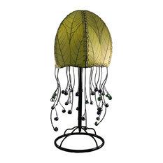 Jellyfish Table Lamp, Green