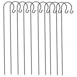 Selections Metal Border Hooks, 1.2 Metre, Set of 10