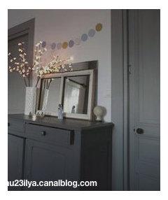 peindre des portes interieures en gris anthracite ou noir