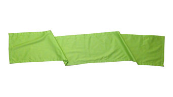 """Organic Cotton Table Runner, Lime, 13""""x72"""""""