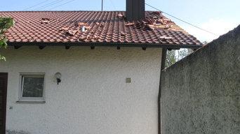 Tornado fegt durch Affing in Bayern