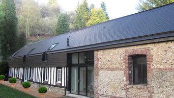 Rénovation d'une maison normande