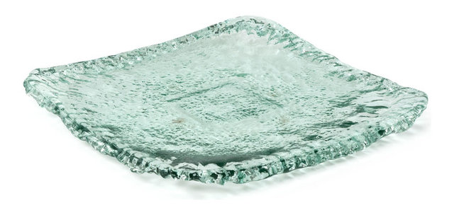100% Recycled Glass Plate  sc 1 st  Houzz & 100% Recycled Glass Plate - Contemporary - Dinner Plates - by ...