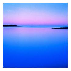 "Sea Study, Schoodic Peninsula, Acadia National Park, 2004, 30""x30"""