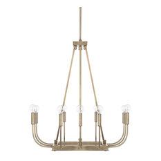 Capital Lighting Zander Aged Brass 12-Light Chandelier