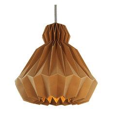 Droobski DressedUp Pendant Lamp, Mocha, 65cm