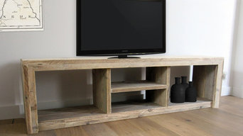 Reclaimed Look TV Stand