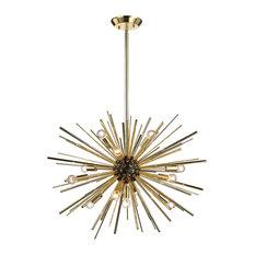 Dimond Lighting Starburst - Twelve Light Pendant