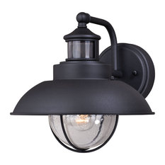 50 most popular dusk to dawn outdoor wall lights and sconces for vaxcel harwich dualux 10 outdoor wall light textured black outdoor wall lights and aloadofball Gallery