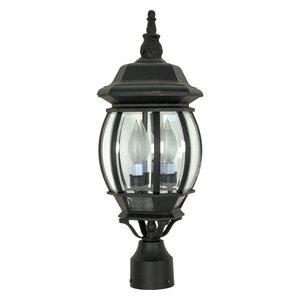 Central Park 3 Light Post Lantern Old Bronze