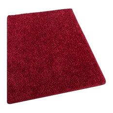 12'x16' Shaw, Om Ii Ruby Slipper Red Carpet Area Rugs