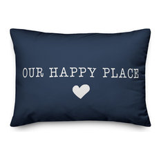Our Happy Place Outdoor Lumbar Pillow
