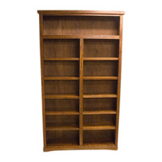 1st Avenue - Caldey Traditional Wooden Bookcase - Bookcases
