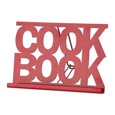 Chef Vida Cookbook Stand, Red