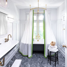 Room of the Day: Sophisticated Schoolhouse Style for a Kids' Bathroom