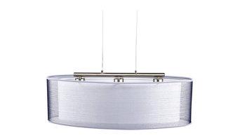 Nica 3-Light Pendant, Silver