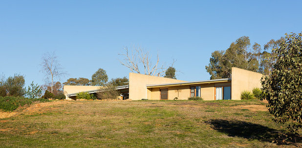 Contemporary  by Rammed Earth Enterprises