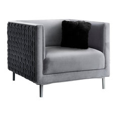 MOD - Rhys Chair, Gray - Armchairs and Accent Chairs