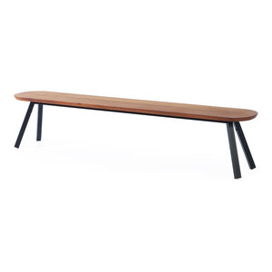 """You and Me"" Bench, Black, Large"