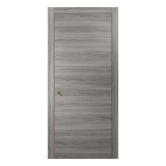 Sliding Pocket Door 18 x 80 & Hardware Frames | Planum 0010 Ginger Ash