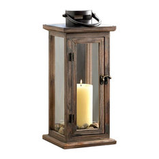 Perfect Lodge Wooden Lantern