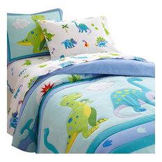 Dinosaur Land Comforter Set, Twin