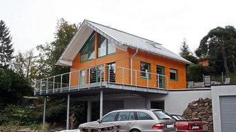 Wochenendhaus am Edersee in Holzständerbauweise (2007)
