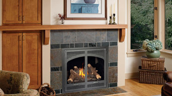 Avalon 864 High Output gas fireplace