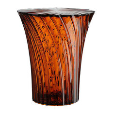Sparkle Stool by Kartell, Amber