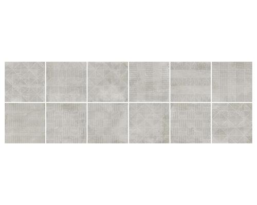 Urban Handmade Silver - Wall & Floor Tiles