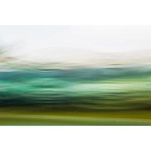 """Green Flow"" Photo Print, Art Poster, 40x30 cm"