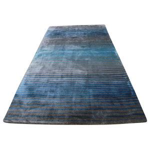 Holborn Rug, Grey and Teal, 120x170 cm