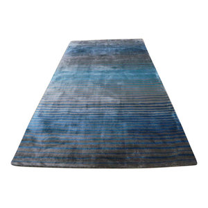 Holborn Rug, Grey and Teal, 120x170 cm