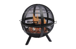 """Ball O' Fire With 30"""" Steel Bowl, Includes Cover"""