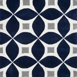 """nuLOOM - Hand-Tufted Gabriela Area Rug, Navy, 9'6""""x13'6"""" - Made from the finest materials in the world and with the uttermost care, our rugs are a great addition to your home."""