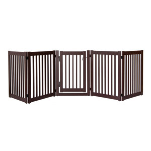 Highlander Series Solid Wood Pet Gate