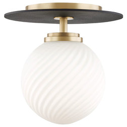 Contemporary Flush-mount Ceiling Lighting by Hudson Valley Lighting