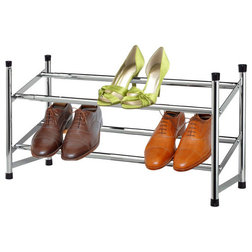 Contemporary Shoe Storage by HOME BASICS