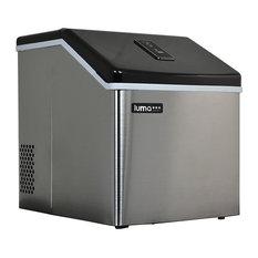 LumaComfortCorporation - Luma Comfort IM200SS Stainless Steel Portable Clear Ice Maker - Ice Makers