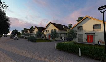 Visualisierung Wohnbebauung