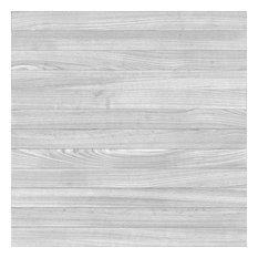 "20""x20"" Gray Oak Plank Luxury Vinyl Tile, Set of 6"