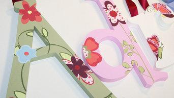 Portfolio - Artwork Wall Letters