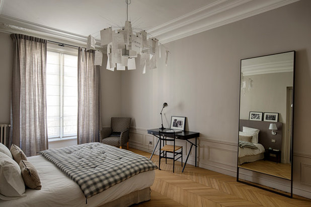 visite priv e un appartement haussmannien fait l 39 apologie du design. Black Bedroom Furniture Sets. Home Design Ideas