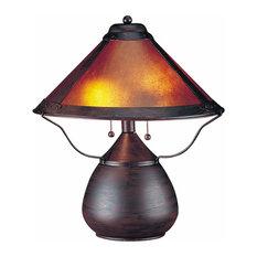 CAL Lighting BO-464 40Wx2 Mica Table Lamp