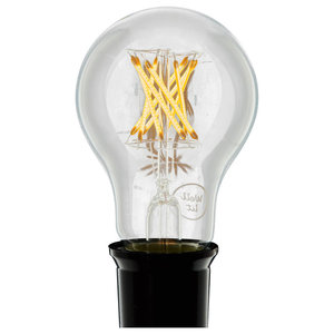 Faye Hard Filament A60 LED Light Bulb, E27